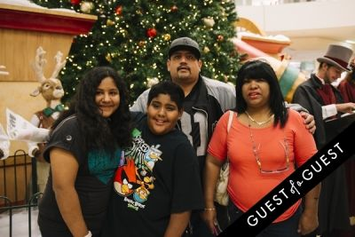 maria espinosa in The Shops at Montebello Presents Santa's Arrival