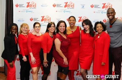ghylian bell in The 2013 American Heart Association New York City Go Red For Women Luncheon