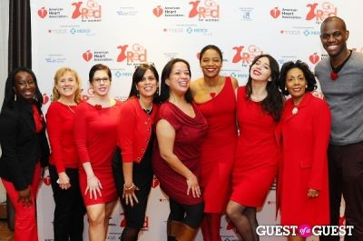 gesselle carradero in The 2013 American Heart Association New York City Go Red For Women Luncheon