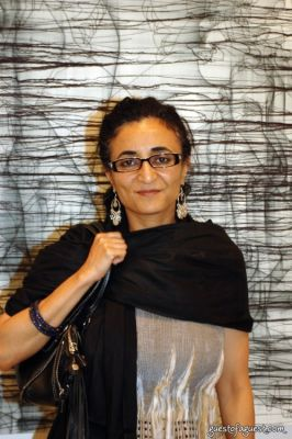 ghada amer in Opening Party for The Female Gaze