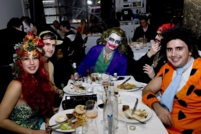 kerim batibay in Bagatelle Brunch-Halloween