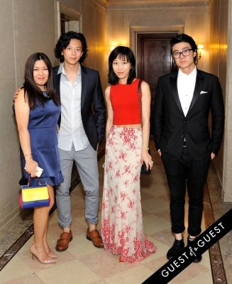 gianna guo in Frick Collection Flaming June 2015 Spring Garden Party