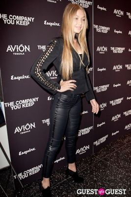 gigi hadid in Avion Espresso Presents The Premiere of The Company You Keep
