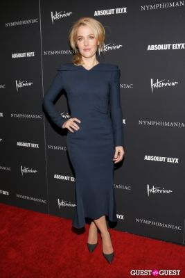 gillian anderson in New York Premiere of Magnolia Pictures' Nymphomaniac:Volume One