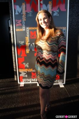gillian hearst in M Missoni Summer Celebration