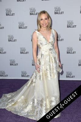 gillian miniter in NYC Ballet Fall Gala 2014