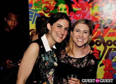 grace ortelere in FLATT Magazine Closing Party for Ryan McGinness at Charles Bank Gallery
