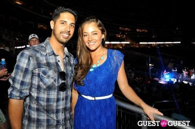 gio gonzalez in ziMS Foundation 'A Night At The Park' 2012