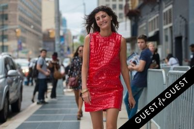 giovanna battaglia in Fashion Week Street Style: Day 3