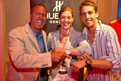 beatrice de-quervain in Hublot World Cup Final Screening