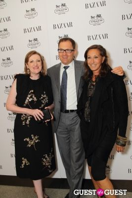 donna karan in Harper's Bazaar Greatest Hits Launch Party