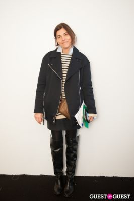 gloria baume in NYC Fashion Week FW 14 Street Style Day 1