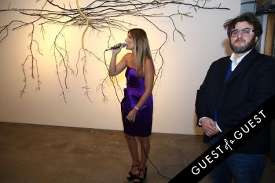 gloria porcella in Dalya Luttwak and Daniele Basso Gallery Opening