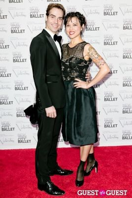 gonzalo garcia in New York City Ballet Fall Gala Celebrates Valentino