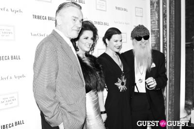 billy gibbons in New York Academy of Art's 2013 Tribeca Ball