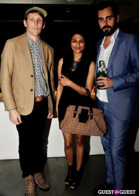 samar wajih-zaman in I Love Charts book release party with Tumblr