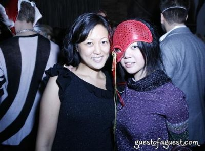 andrea chung in Lydia Hearst's Masquerade Party