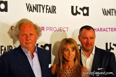 graydon carter in USA Network and Vanity Fair