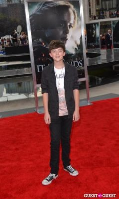 grayson chance in Harry Potter And The Deathly Hallows Part 2 New York Premiere