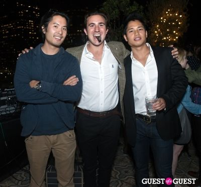 greg chou in Coronet Solitaire Launch Party