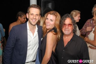 vanessa vandergast-and-robert-farber in Vogelsang Gallery After- Hamptons Fair Cocktail Party
