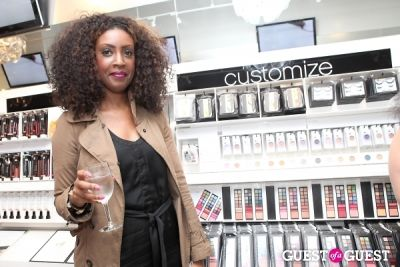 gregorie guillaume in e.l.f. Studio Grand Opening