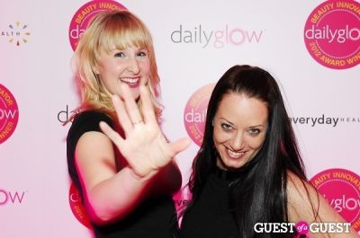 danielle purslow in Daily Glow presents Beauty Night Out: Celebrating the Beauty Innovators of 2012