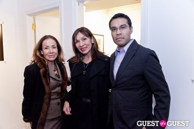 guadalupe gomez in Galerie Mourlot Livia Coullias-Blanc Opening