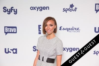 guiliana rancic in NBCUniversal Cable Entertainment Upfront