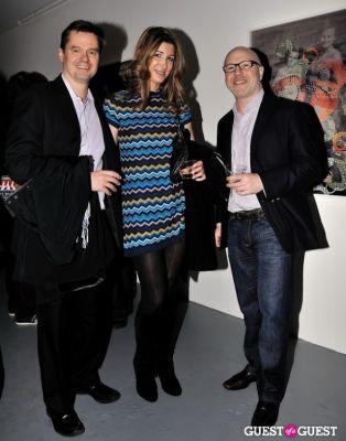 john geelan in Garrett Pruter - Mixed Signals exhibition opening