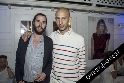 guy reziciner in The Untitled Magazine Hamptons Summer Party Hosted By Indira Cesarine & Phillip Bloch