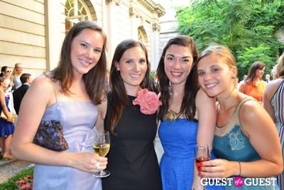 morgan osthimer in The Frick Collection's Summer Soiree
