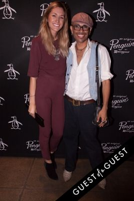 hailey adickes in Original Penguin 60th Anniversary Party