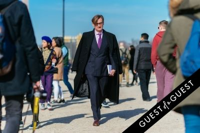 hamish bowles in Paris Fashion Week Pt 2