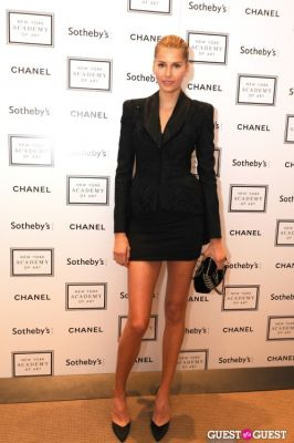 hana soupkova in The New York Academy Of Art's Take Home a Nude Benefit and Auction