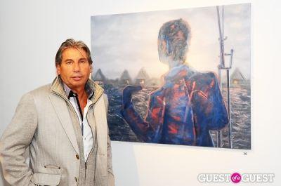 hank freid in Billy Norwich, Gillian Hearst and the Sanctuary Hotel host party for artist Garrett Chingery