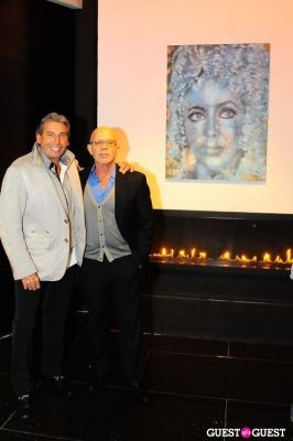hank freid in Billy Norwich, Gillian Hearst and the Sanctuary Hotel host party for artist Garrett Chingery