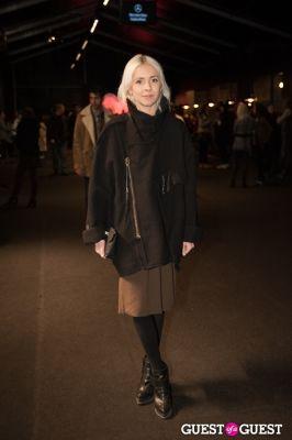 hanna tveite in NYC Fashion Week FW 14 Street Style Day 3