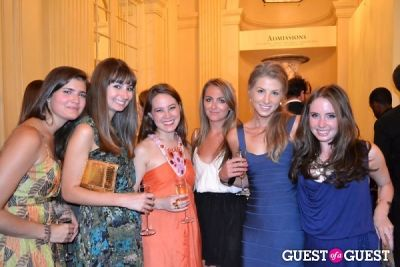 katie schloss in The Frick Collection's Summer Soiree