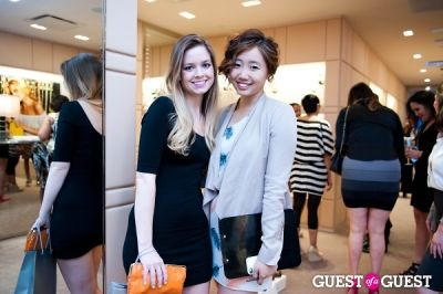 hannah kwagh in Spring Charity Shopping Event at Nival Salon and Jimmy Choo