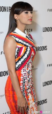 hannah simone in British Fashion Council Present: LONDON Show ROOMS LA Cocktail Party
