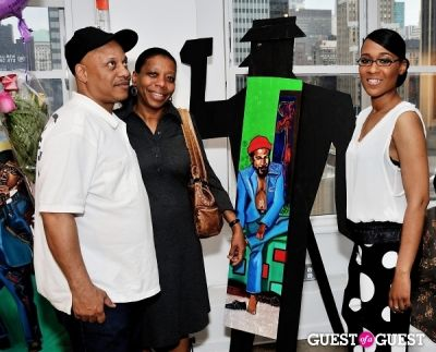 mary whittaker in Reign Entertainment Hosts The Launch of 3D Art by S. Whittaker