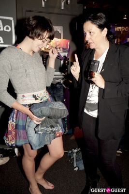 kelly cutrone in Desigual Undie Party