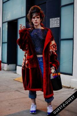 hari nef in NYFW Street Style Day 1