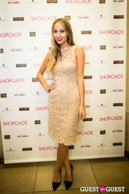 harley viera-newton in Shopcade New App Launch at Henri Bendel