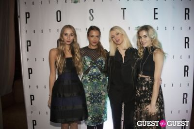 chelsea leyland in Poster Magazine US Launch Party