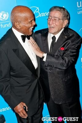 harry belafonte in The 8th Annual UNICEF Snowflake Ball