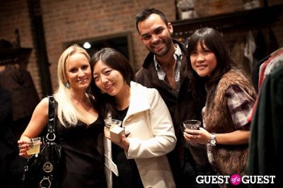 hana chang in ONASSIS CLOTHING & MOLTON BROWN PRESENT GENTS NIGHT OUT