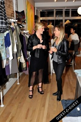 hattie saltonstall in V CURATED private launch