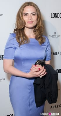 hayley atwell in British Fashion Council Present: LONDON Show ROOMS LA Cocktail Party